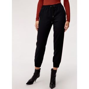 Aritzia WILFRED Joggers with Silk Trim